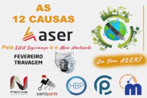 ASER 12 causas travões