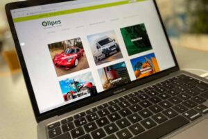 Check-up Media OLIPES website