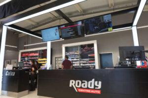 Check-up Media Roady reception